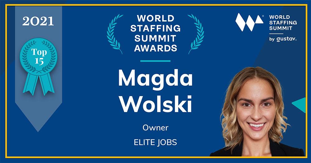 Elite Jobs staffing awards